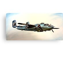 North American B-25 Mitchell Canvas Print