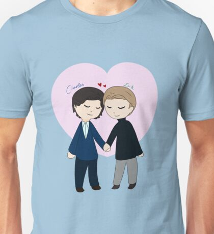 Chibi Charles And Erik Unisex T-Shirt