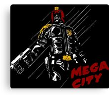 MEGA CITY Canvas Print