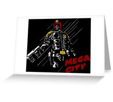 MEGA CITY Greeting Card