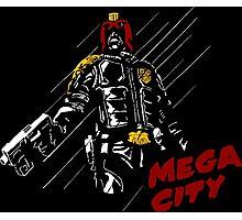MEGA CITY Photographic Print
