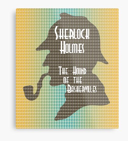 The Hound of the Baskervilles Metal Print
