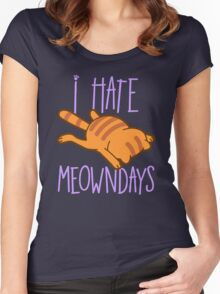 Meowndays Women's Fitted Scoop T-Shirt