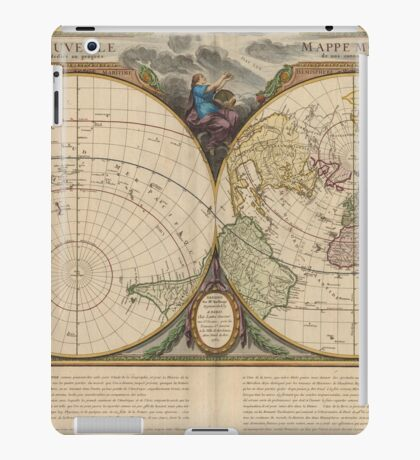 World Map 1760 iPad Case/Skin