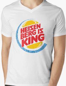 Heisenberg Is King Mens V-Neck T-Shirt