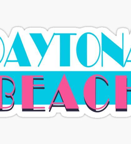 Daytona Beach Florida Vice Sticker