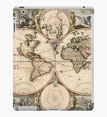 World Map 1690 iPad Case/Skin
