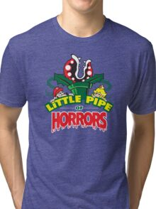 Little Pipe of Horrors Tri-blend T-Shirt