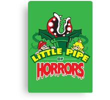 Little Pipe of Horrors Canvas Print