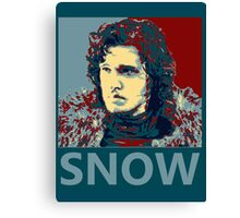 Jon Snow hope Canvas Print