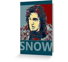 Jon Snow hope Greeting Card