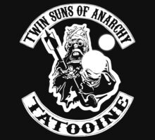 Twin Suns of Anarchy One Piece - Short Sleeve