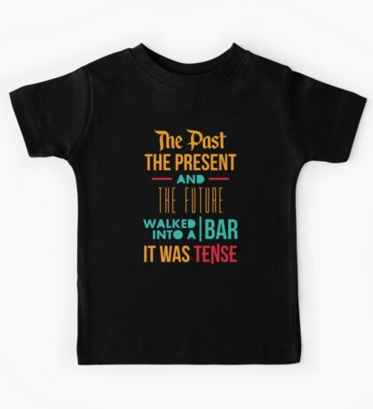 The Past, Present and Future Kids Tee