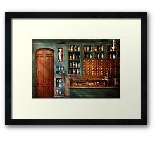 Pharmacy - Medicine - Pharmaceutical remedies  Framed Print
