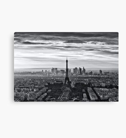 PARIS 10 Canvas Print