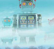 Robot blue by Nostromo71