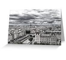 PARIS 11 Greeting Card
