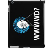 WWWWD? iPad Case/Skin