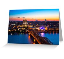 COLOGNE 03 Greeting Card