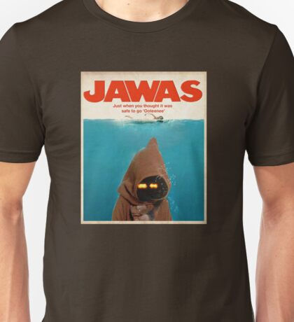Jawas : Inspired by Star Wars & Jaws Unisex T-Shirt