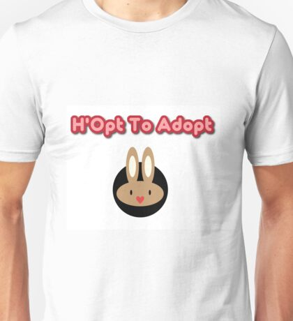 H'opt to adopt Unisex T-Shirt