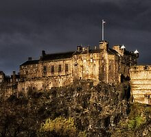 Edinburgh Castle by Kasia-D