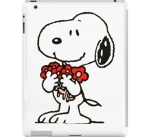 Snoopy Flowers iPad Case/Skin