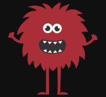 Funny Cute Monster Kids Tee
