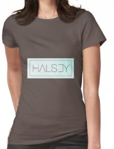 Halsey - blue Womens Fitted T-Shirt