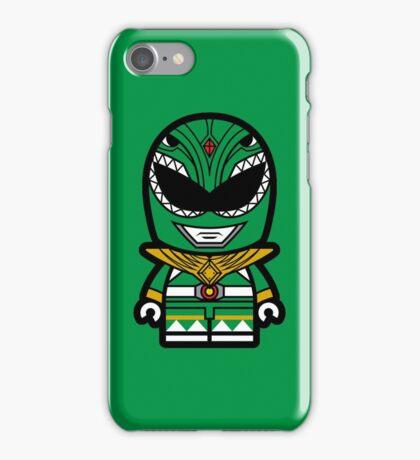 Green Ranger Chibi Lego iPhone Case/Skin