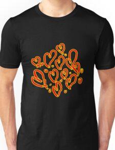 Valentines Hearts Unisex T-Shirt