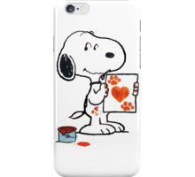Snoopy Valentine iPhone Case/Skin