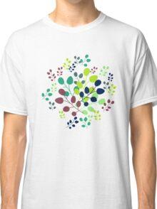 Autumn Leaves Pattern Classic T-Shirt
