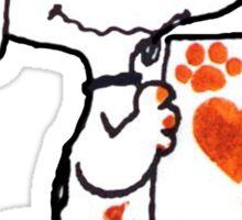 Snoopy Valentine Sticker