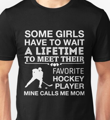 FAVORITE HOCKEY PLAYER Unisex T-Shirt