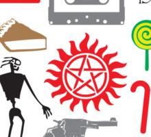 SUPERNATURAL QUOTES Sticker