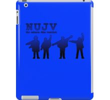 NUJV iPad Case/Skin