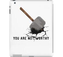 thor's hammer iPad Case/Skin