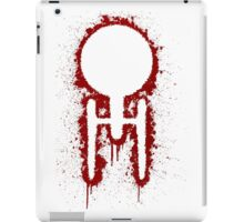 USS Splatterprise - Red iPad Case/Skin