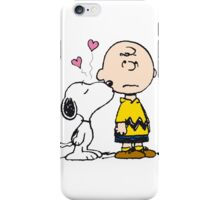 Snoopy loves Charlie Brown iPhone Case/Skin