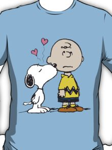 Snoopy loves Charlie Brown T-Shirt
