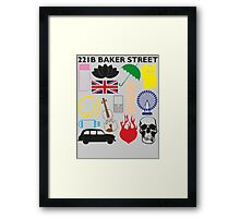 FAVOURITE SHERLOCK MOMENTS Framed Print