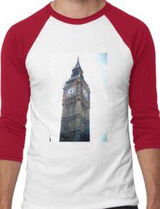 Unique London Vintage Film  Men's Baseball ¾ T-Shirt