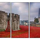 Blood Swept Lands Tryptych by Chris Thaxter