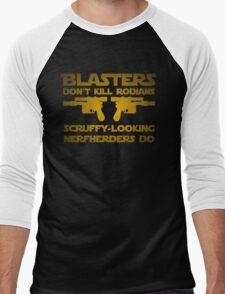 Blasters don't kill Men's Baseball ¾ T-Shirt