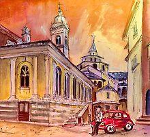 Evening Date In Bergamo by Goodaboom