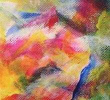 """""""Dreamscape No.1"""" original abstract artwork by Laura Tozer by Laura Tozer"""