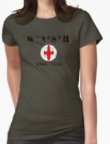 W*A*S*H 2486 - 2518 - Worn look Womens Fitted T-Shirt