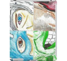 Avengers All 4 One landscape (poster effect)  iPad Case/Skin