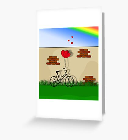 Secret Love  Greeting Card